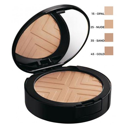 DERMABLEND, Covermatte Poudre Compact 12h - Teinte Gold N°45 - 9,5g