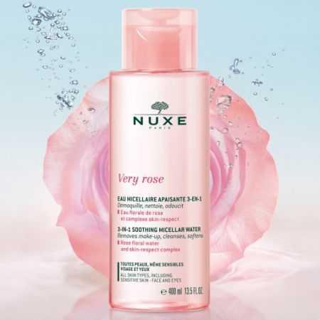 Nuxe Very Rose Eau Micellaire Apaisante 3 en 1/ 400ml
