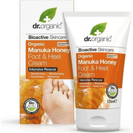 Organic Manuka Honey Foot & Heel Cream