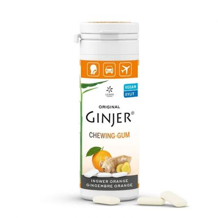 GINJER® ginger chewing gum – Orange