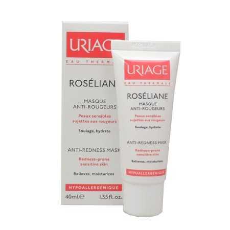Uriage Roséliane Masque Anti-Rougeurs - Tube (40 ml)