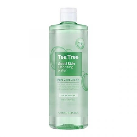 NATURE REPUBLIC – GOOD SKIN TEA TREE AMPOULE CLEANSING WATER 500 ML