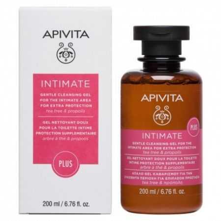 Apivita Intimate Plus Gel Nettoyant Doux pour la Toilette Intime  200ml