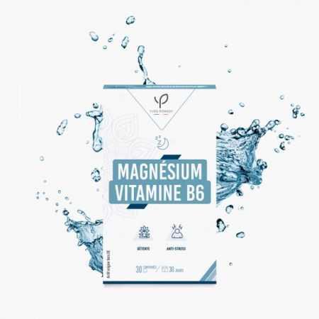 Yves Ponroy Magnésium et vitamine B6 - 30 comprimes