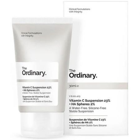 The Ordinary Suspension de Vitamine C 23% + Sphères de HA 2%