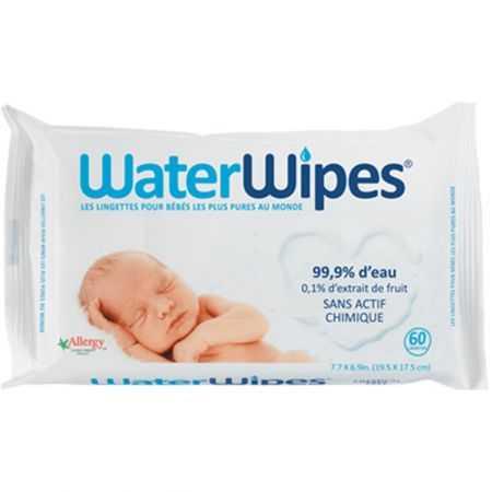 WATERWIPES 60 lingettes bébé