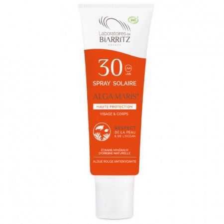 BIARRITZ ALGAMARIS Spray solaire SPF30 certifié Bio