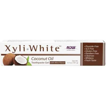 Now  Dentifrice Naturel à l'huile de coco XyliWhite ™