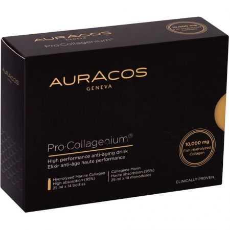 AURACOS PRO COLLAGENIUM 14 ampoules buvables