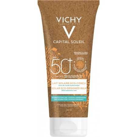 Vichy Capital Soleil Lait solaire visage et corps Eco-conçu SPF 50+