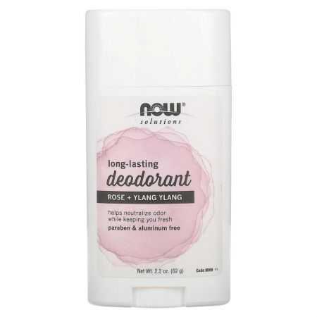Now  Deodorant rose + Ylang ylang /2.2 OZ