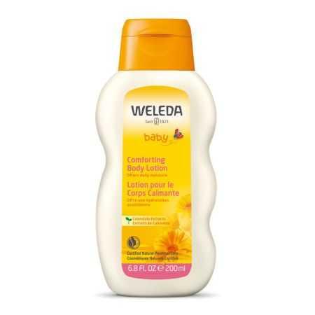 Weleda - Lotion bébé pour le corps calmante Calendula 200ml