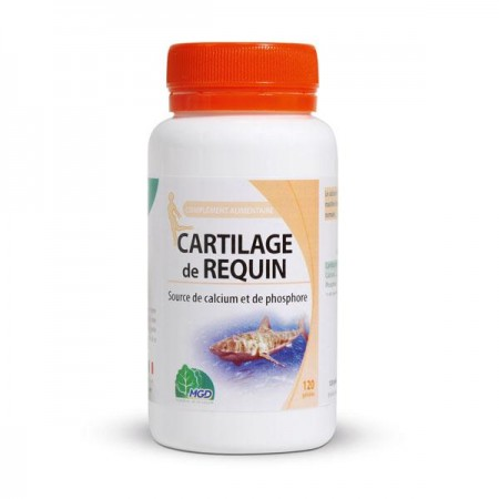 MGD NATURE CARTILAGE DE REQUIN 120 GÉLULES