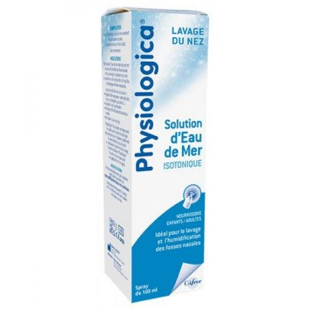 GIFRER Physiologica Lavage Du Nez Solution  Isotonique Spray 100ml