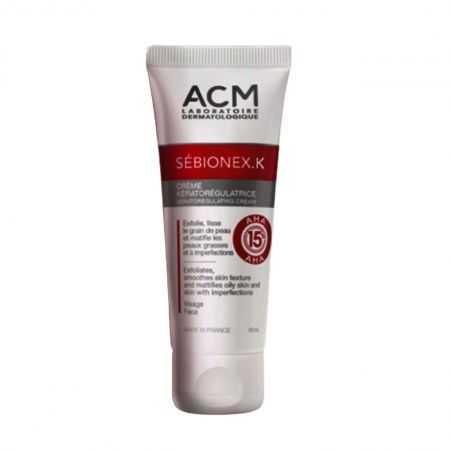 ACM Sebionex K kératorégulatrice Crème 40 ml