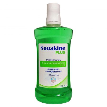 DERMO-SOIN SOUAKINE PLUS BAIN DE BOUCHE 500ML