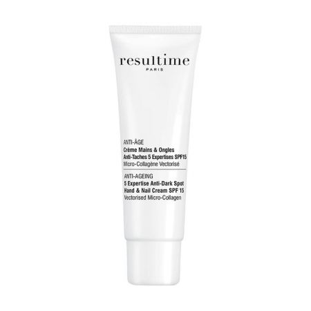 Resultime Anti-Âge Crème Mains et Ongles Anti-Taches 5 Expertises SPF 15 50 ml