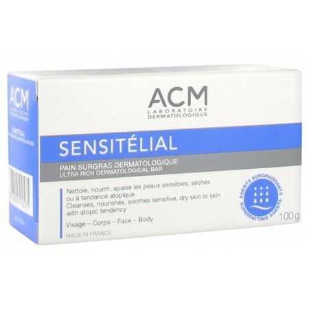 ACM Sensitélial Pain Surgras Dermatologique 100 g