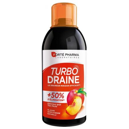 FORTE PHARMA TURBO DRAINE MINCEUR GOUT PECHE 500 ML