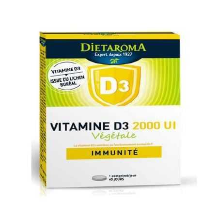 DIETAROMA Vitamine D3 végétale 2000UI